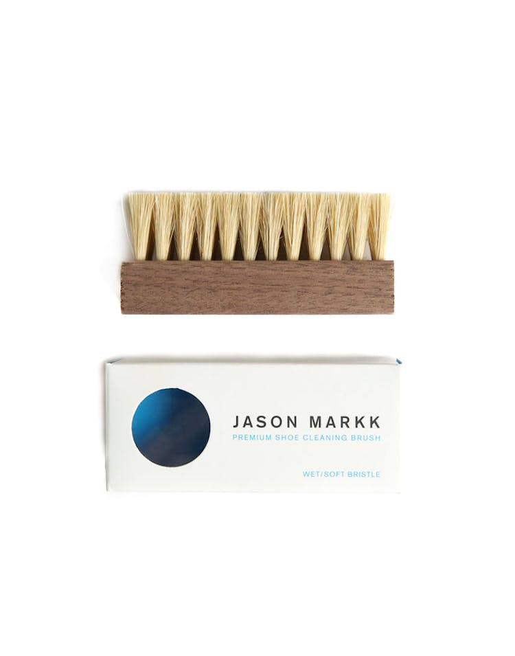Premium Shoe Cleaning Brush White