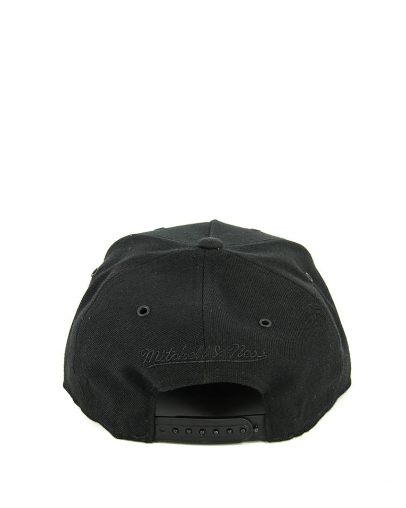 Mitchell & Ness Nets Greytist Snapback Black/grey