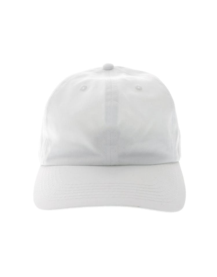 Goat Crew 6panel Precurved Strapback White