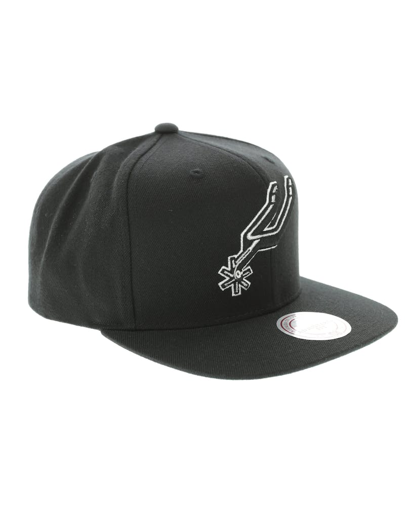 Mitchell & Ness Spurs Wool Solid Snapback Black/Green