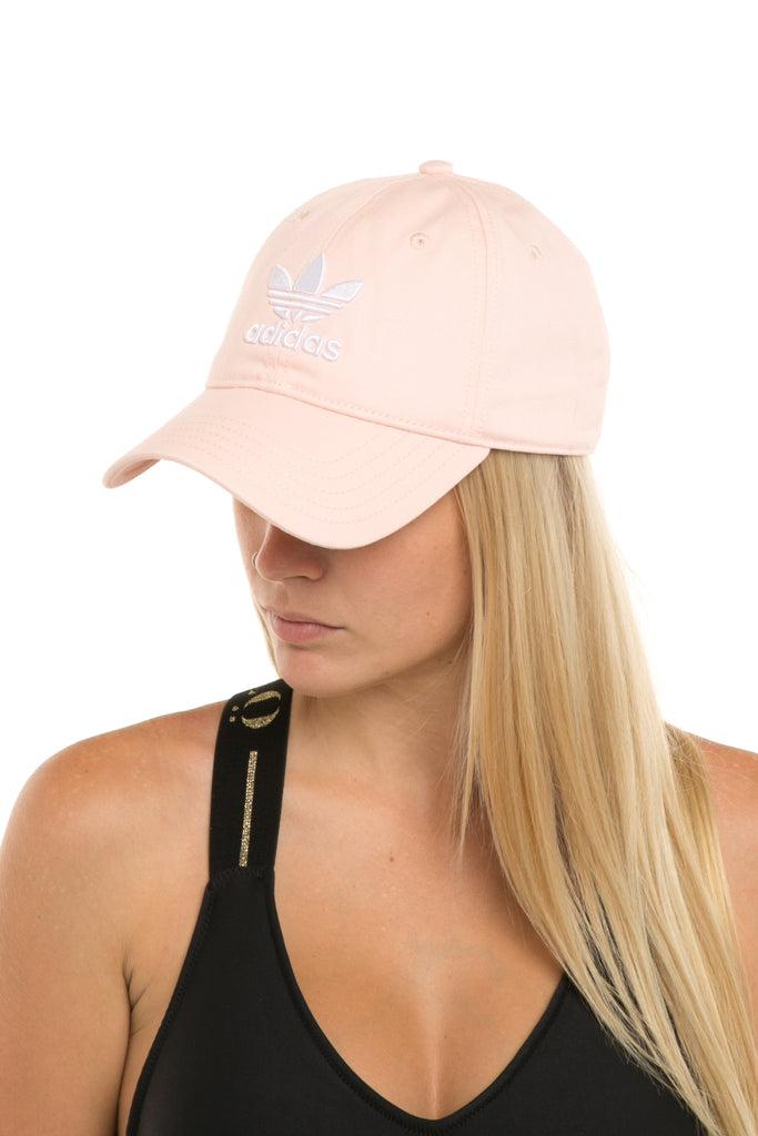 finest selection eaefb 1d403 official adidas womens trefoil cap light pink ea620 812aa