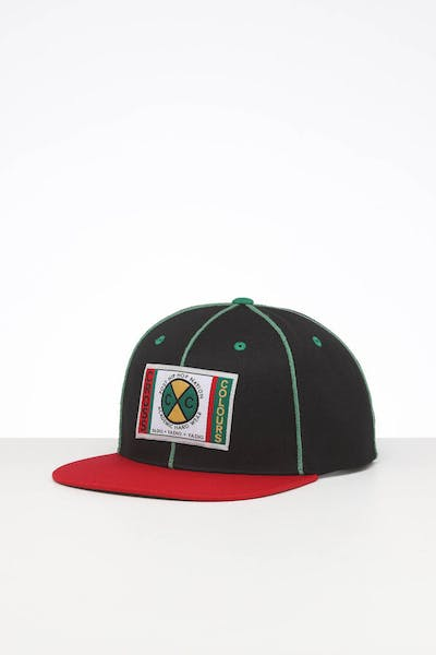 Cross Colours LA Classic Soutache Snapback Black