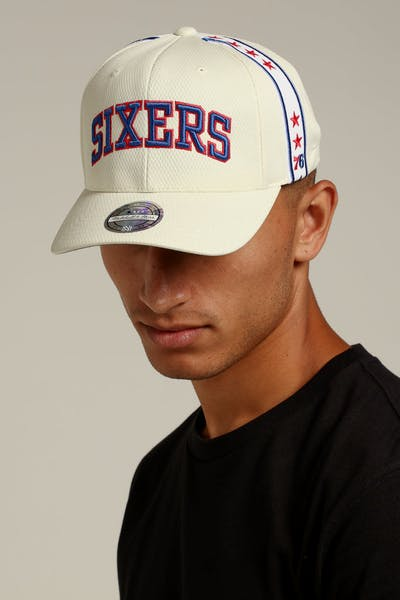 Mitchell   Ness Philadelphia 76ers City Series Snapback White Navy Red 8adc98053a10