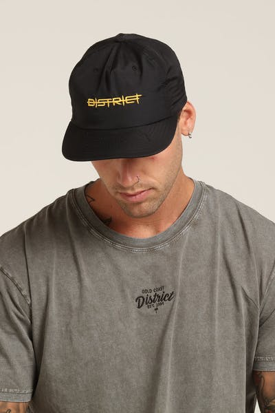 District Goods Barbwire Snapback Black