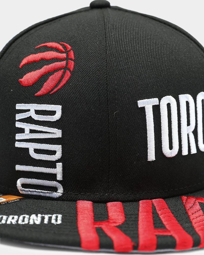 New Era Toronto Raptors 9FIFTY 19 Tip Off Snapback Black