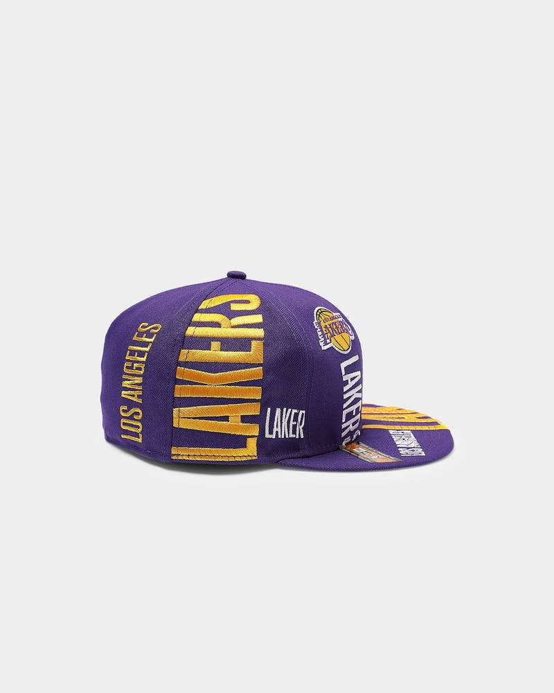 New Era Los Angeles Lakers 59FIFTY 19 Tip Off Purple