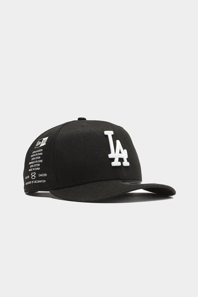 Los Angeles Dodgers Side Cont 9FIFTY High Crown Precurved Snapback