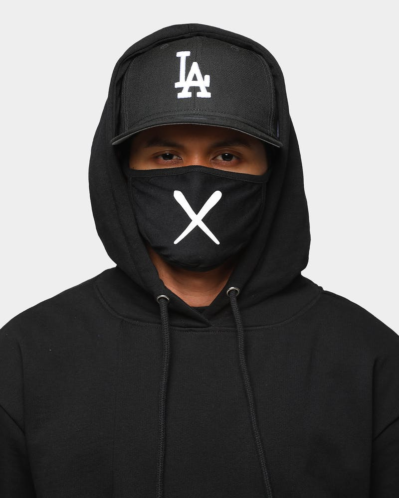 "Goat Crew Men's ""X"" Face Mask Black"