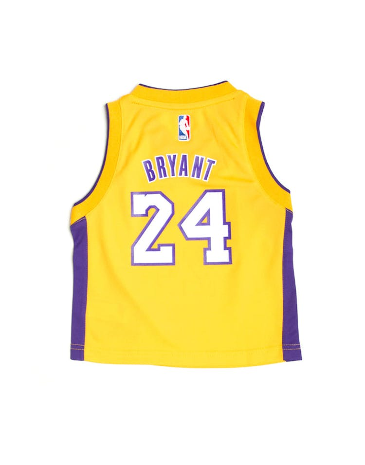 6eb156138 Adidas Los Angeles Lakers Home Toddler Jersey Kobe Bryant  24 Gold ...