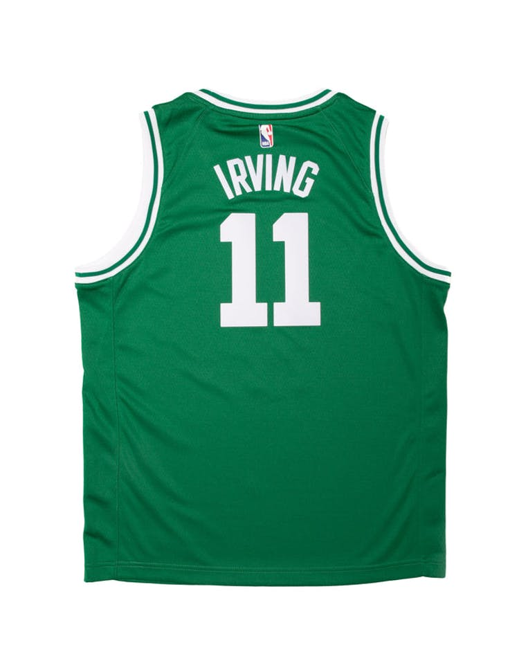 various colors ed932 d9e68 Kyrie Irving #11 Nike Icon Edition Youth Swingman Jersey Green