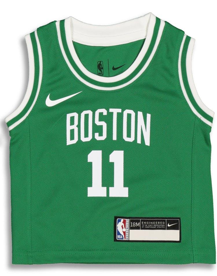 f4b1998492f Nike Infant Boston Celtics Kyrie Irving  11 Icon Replica NBA Jersey Green