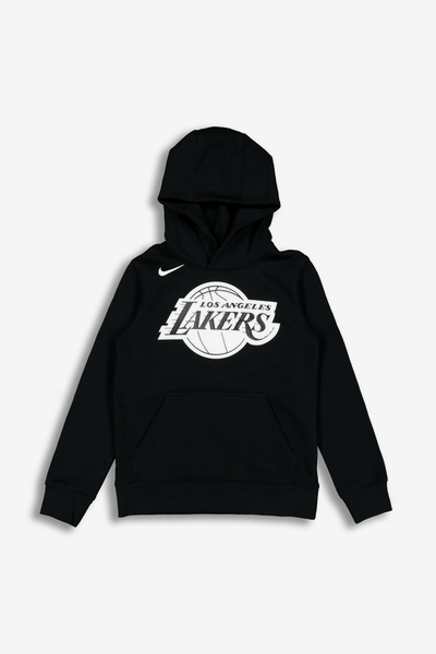Nike Kids Los Angeles Lakers Logo Essential Pull Over Hood Black