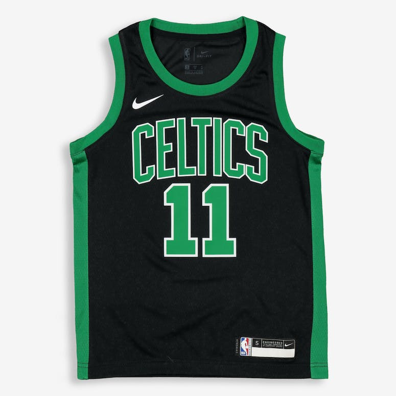 394d9547635 Nike Kids Boston Celtics Kyrie Irving  11 Icon Swingman NBA Jersey Black
