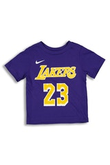 NIKE TODDLER LOS ANGELES LAKERS LEBRON JAMES #23 ICON N&N TEE PURPLE