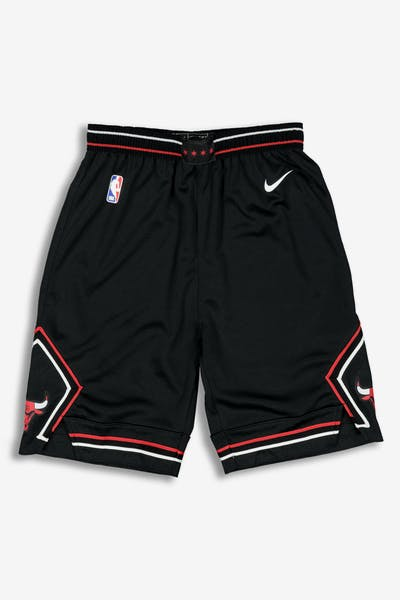 Nike Youth Chicago Bulls Statemen Swingman Shorts Black