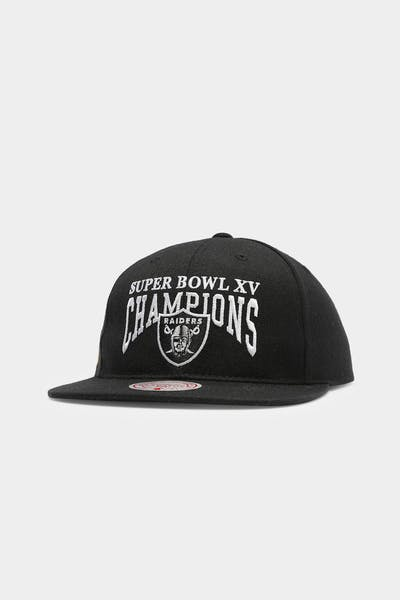 Mitchell & Ness Raiders Superbowl XV Deadstock Snapback Black