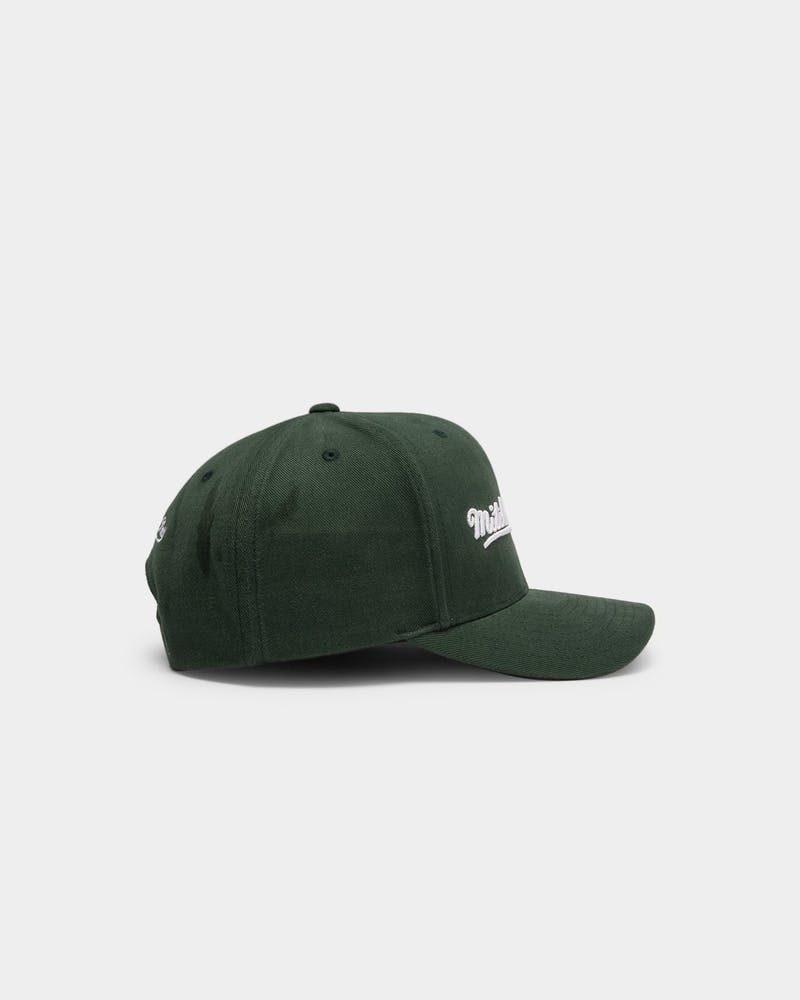 Mitchell & Ness Pro Crown Snapback Green