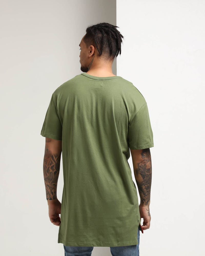 Well Made Magic Tall Tee Army Green