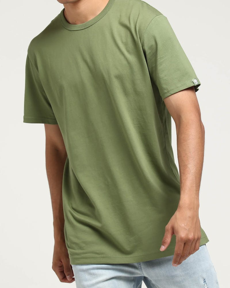 Well Made MJ Basic Tee Army Green