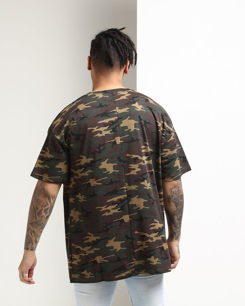 Carré Section Terreux Tee Camo