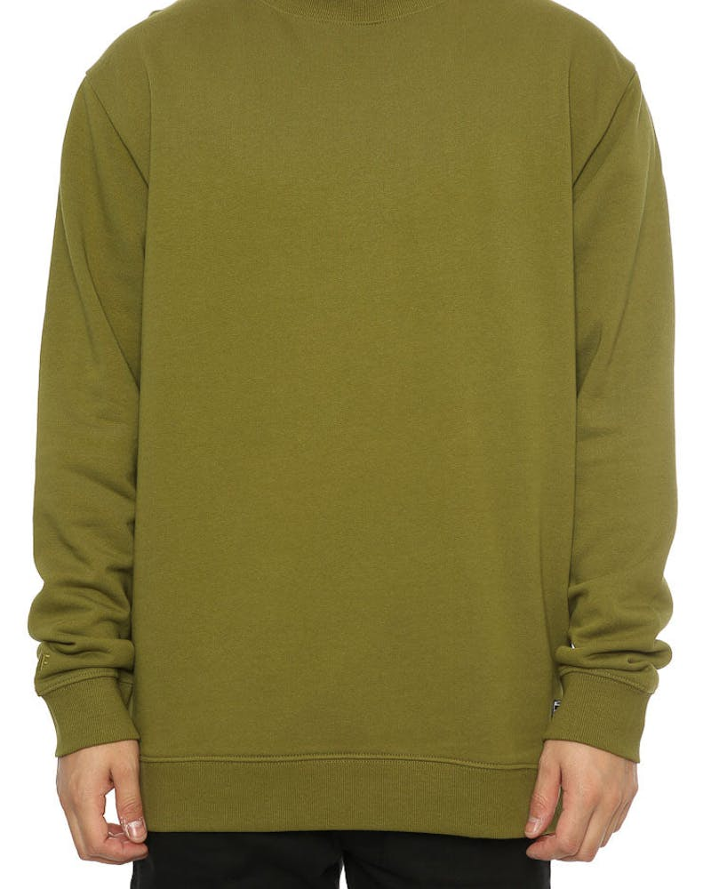 RGF W17 BLANK SWEATER Army Green