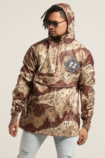 10 Deep Until The End Bandana Pullover Desert