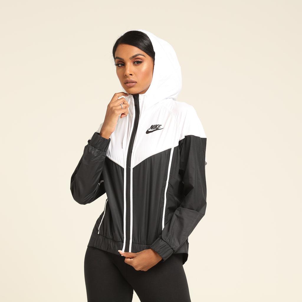 Nike Women's Windrunner Jacket BlackWhiteBlack