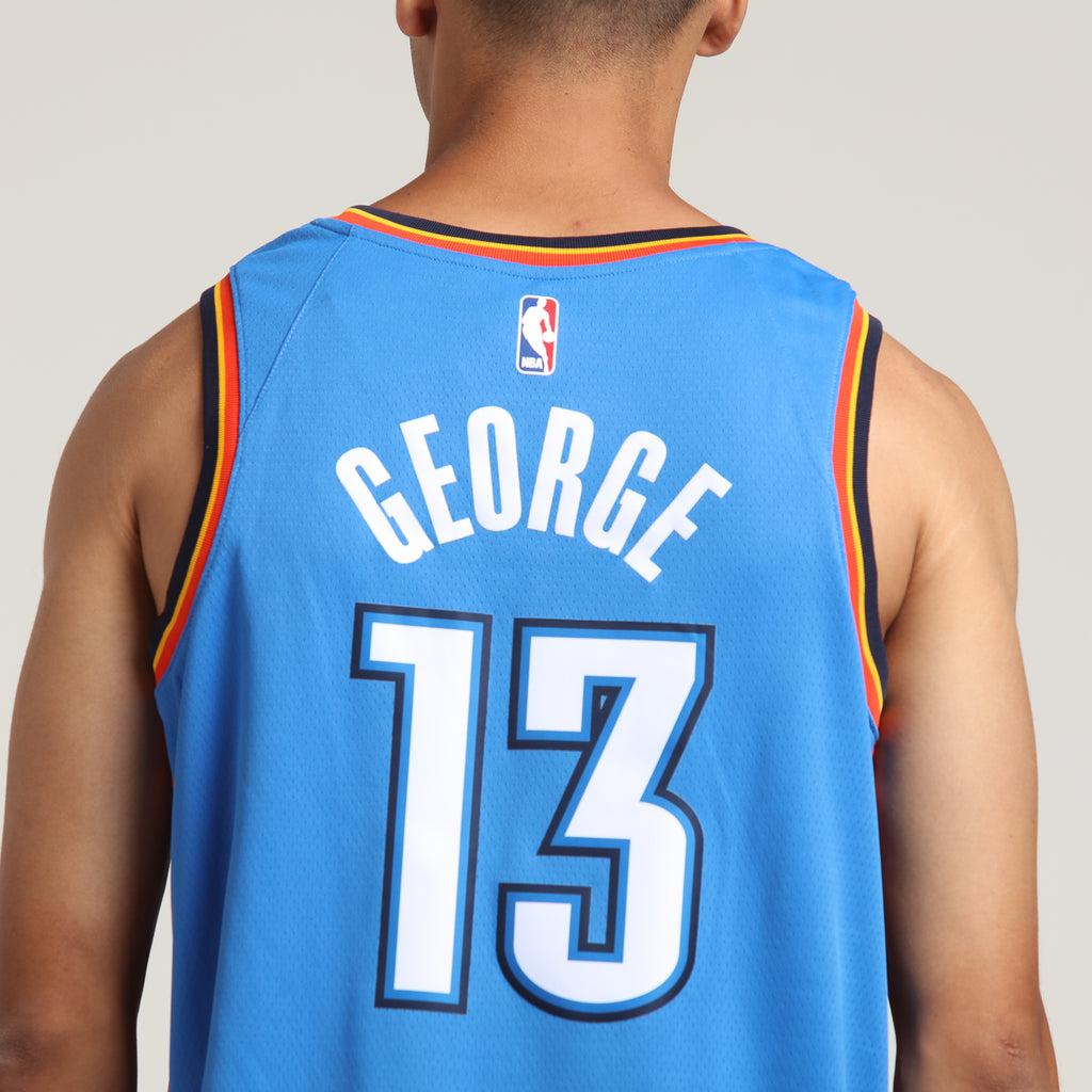 13 Nike Authentic Paul George Okc Thunder Xl Dri-fit Basketball Jersey Nwt