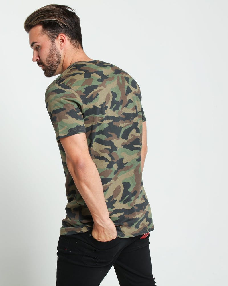 Well Made Standard Issue Tee Camo