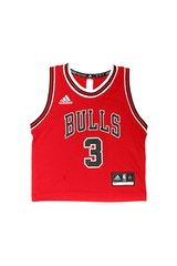 Adidas Toddler Chicago Bulls Jersey Dwyane Wade #3 Red