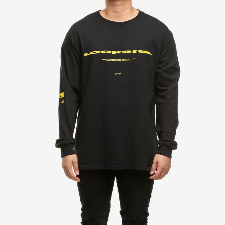 Post Malone Rockstar LS Tee Black