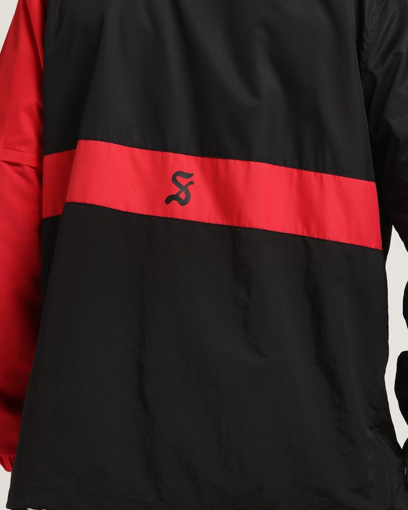 Saint Morta Half Life Windbreaker Black/Red