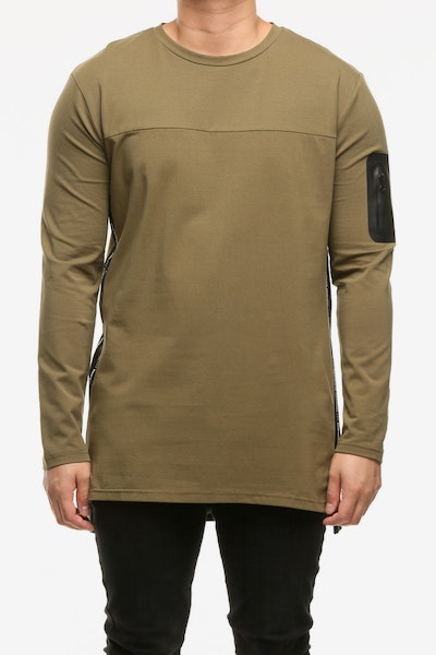 Emperor Apparel Sportstech Long Sleeve T-Shirt Olive