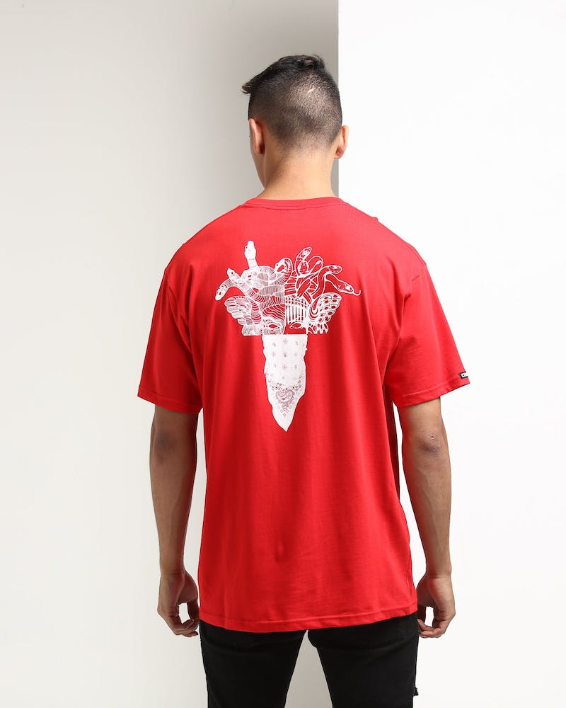 Crooks & Castles Fragment Medusa Red/White
