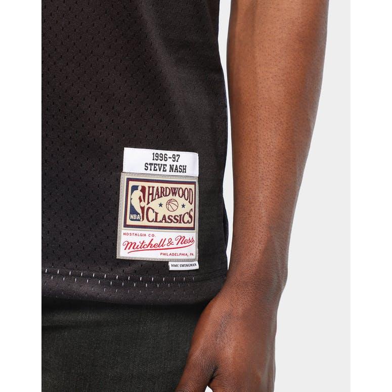 newest 2b686 c47f0 Mitchell & Ness Phoenix Suns Steve Nash #13 NBA Jersey Black