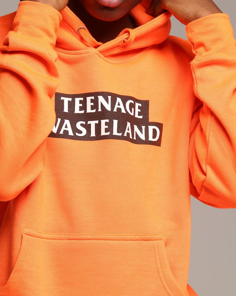 Los Angeles RadYo! Teenage Wasteland Hoodie Orange