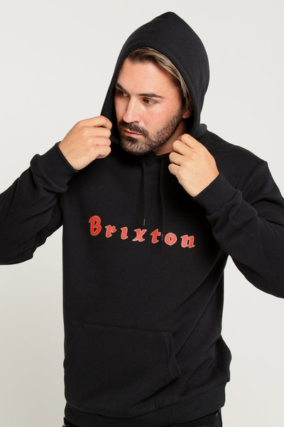 Brixton Proxy Hood Fleece Black