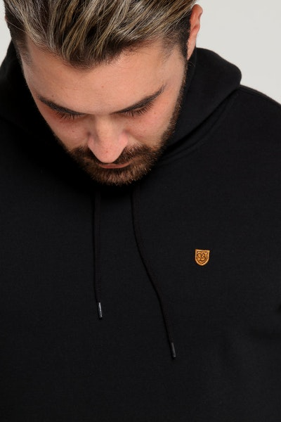 Brixton B Shield Hood Fleece Black/Gold