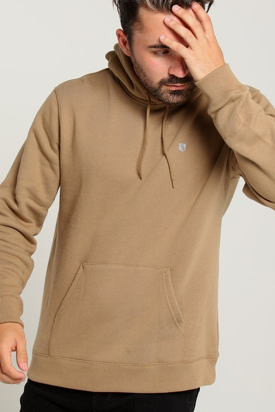 Brixton B Shield Hood Fleece Khaki