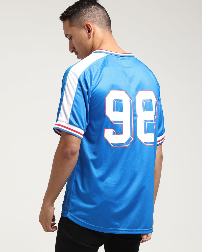 Carré Victor Football Jersey Blue