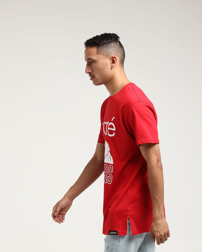 Carré Pioneers Divise SS Tee Red