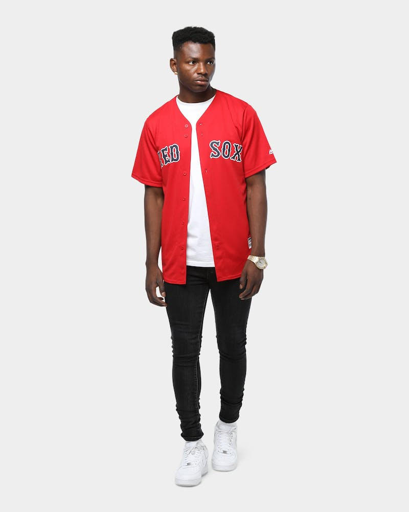 Majestic Athletic Boston Red Sox Cool Base Jersey Red