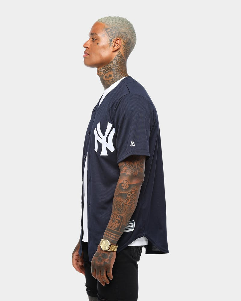 Majestic Athletic New York Yankees Home Cool Base Jersey Navy