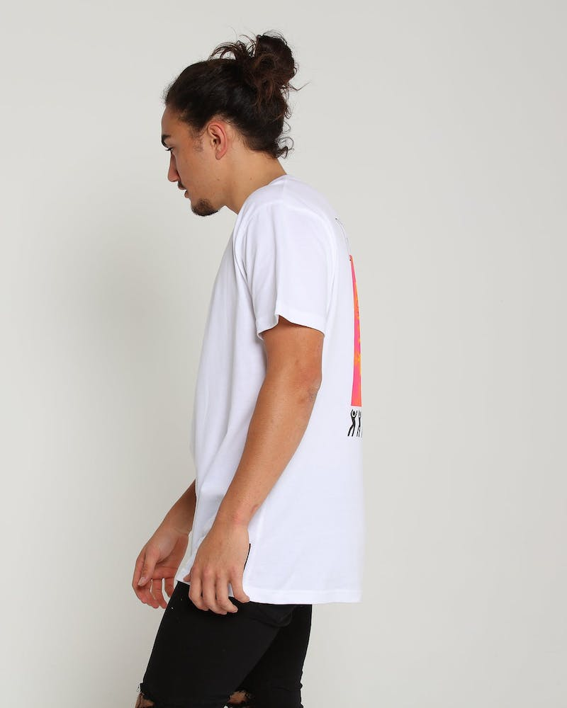 Loiter NYC Never Forget Tee White