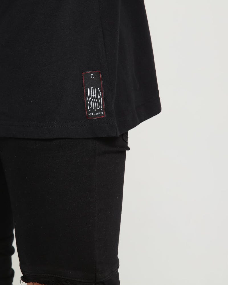 Loiter NYC Lurker Tee Black