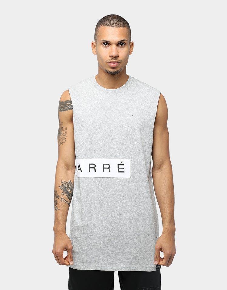 Carré Piece Muscle Grey/White