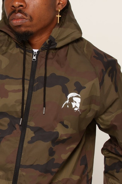 Goat Crew Six God Windbreaker Camo