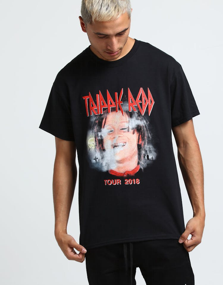 Trippie Redd Tour 2018 SS Tee Black