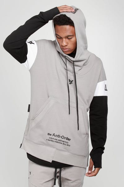 The Anti-Order Future Sport Hoody Grey/Black/White