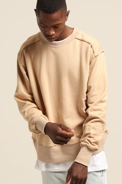 New Slaves Scout Crew Neck Tan